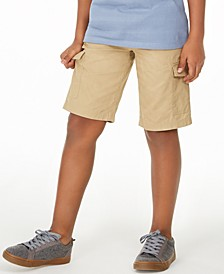 Big Boys Hammock Textured Canvas Cargo Shorts, Created for Macy's