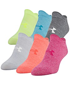 Women's 6-Pk. Essential No-Show Socks
