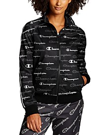 Women's Printed Track Jacket