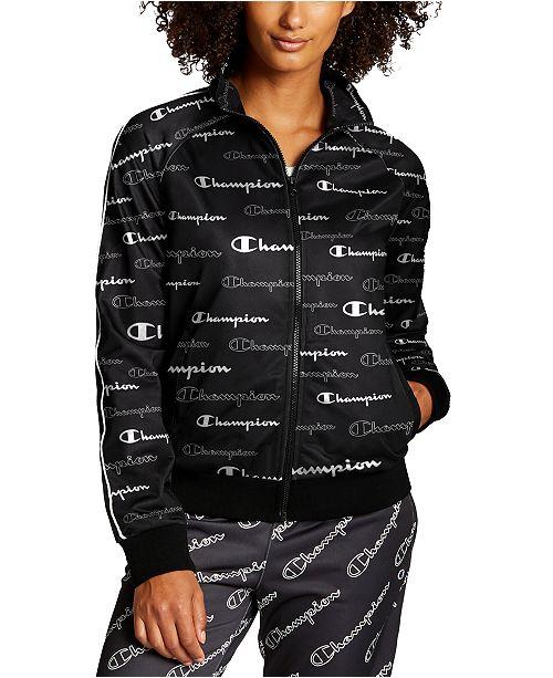 Champion Women's Printed Track Jacket