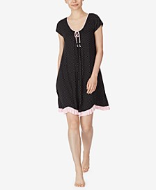 Printed Chemise Nightgown
