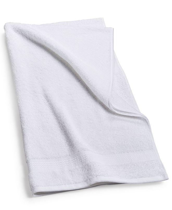 "Home Design Cotton 27.6"" x 54"" Bath Towel, Created for Macy's"
