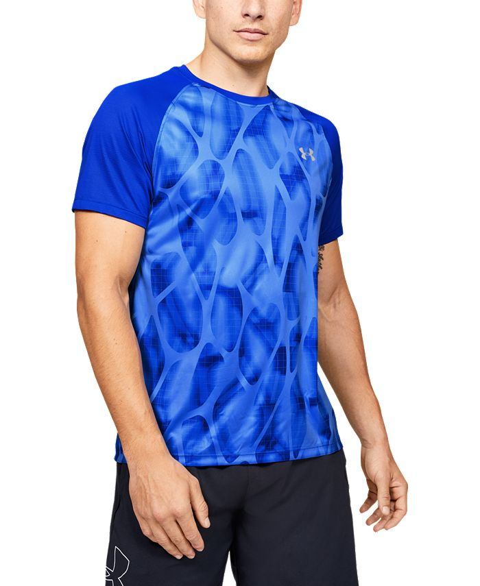 Under Armour - Men's UA Qualifier Iso-Chill Printed Run Short Sleeve