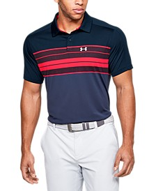 Men's Vanish Chest Stripe Polo