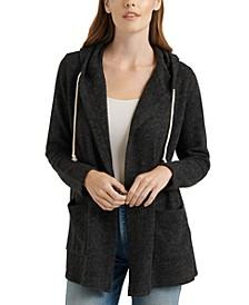 Swit Hooded Cardigan Sweater
