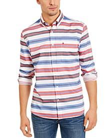 Men's Berkshire Stripe Shirt, Created for Macy's