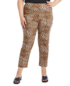 Plus Size Printed Piper Pants