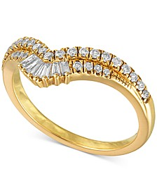 Diamond Chevron Statement Ring (3/8 ct. t.w.) in 14k Gold