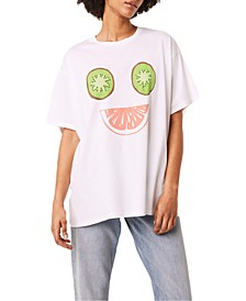 Cotton Smiling Fruit T-Shirt