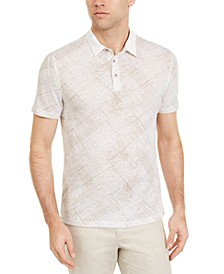 Men's Criss Cross Polo Shirt, Created for Macy's