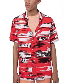 Boss Men's Ebor Short Sleeve Woven Shirt