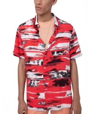 Hugo Boss Men's Ebor Short Sleeve Woven Shirt