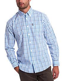 Barbour Men's Tailored-Fit Tattersall Check 15 Shirt
