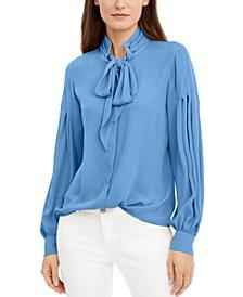 INC Bow Shirt, Created for Macy's