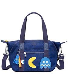 Art Mini Pacman Crossbody Tote