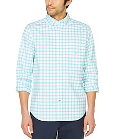Men's Plaid Oxford Shirt