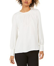 Eliza Pleated Blouse