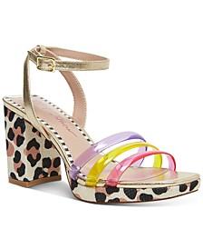 Roni Block-Heel Sandals