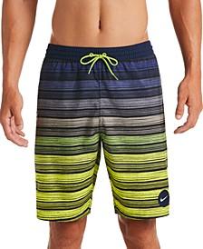 """Men's 6:1 Stripe Breaker Water-Repellent Ombré 9"""" Board Shorts"""