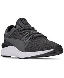 Women's Adela Graphic Knit Casual Sneakers from Finish Line