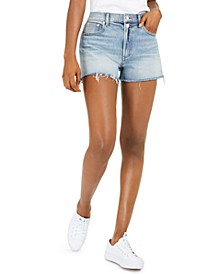 Relaxed Denim Shorts