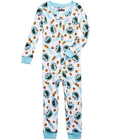 Toddler Boys 1-Pc. Cookie Monster Pajamas