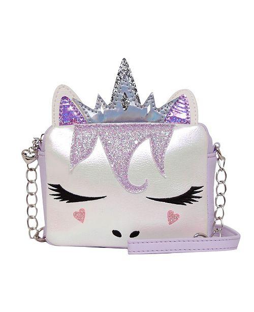 OMG! Accessories Toddler, Little and Big Kids Queen Miss Gwen Unicorn Crossbody
