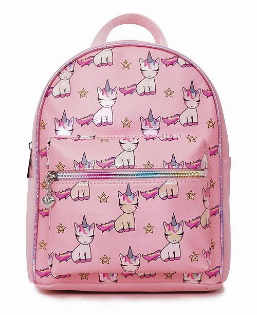 OMG! Accessories Toddler, Little and Big Kids Lil Miss Gwen Unicorn Printed Mini Backpack