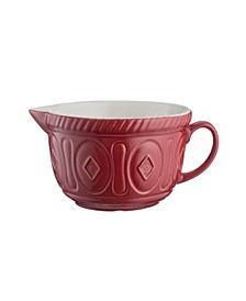 Color Mix Red Batter Bowl