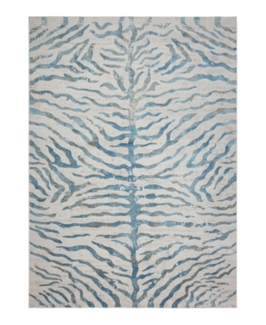 Closeout! Hotel Collection Bandipur Hb-20 Blue 5' x 8' Area Rug