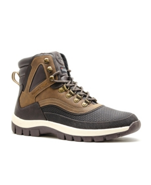 Hawke & Co. Corbett Men's Cold Weather Boots With Memory Foam Men's Shoes In Brown