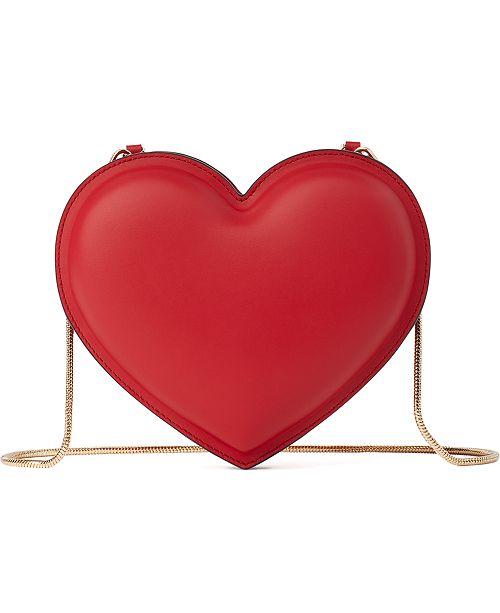 kate spade new york 3D Heart Leather Crossbody