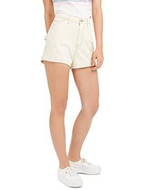 Juniors' Cotton Carpenter Shorts