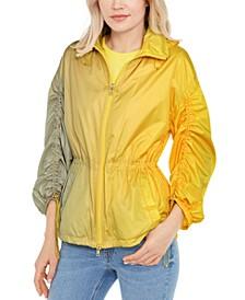Ombré Windbreaker Jacket