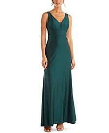 Juniors' Cutout Gown