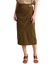 Petite Wrap-Style Skirt