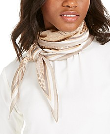 INC Snake-Print Kite Scarf, Created for Macy's