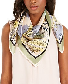 Vacation Silk Square Scarf