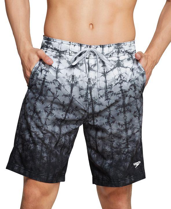 "Speedo Men's Gradient Stretch 9"" E-Board Shorts"