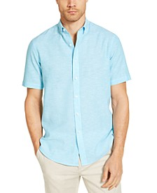 Men's Creston Linen Shirt, Created for Macy's