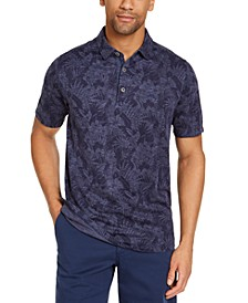 Men's Palmetto Palms Classic-Fit Floral-Print Piqué Polo Shirt