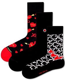 Women's Love Bundle Socks, 3 Pack