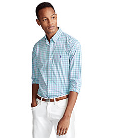 Polo Ralph Lauren Men's Signature Poplin Shirt, Regular & Big & Tall