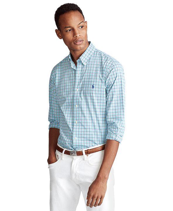 Polo Ralph Lauren Men's Signature Poplin Shirt, Regular & Big & Tall