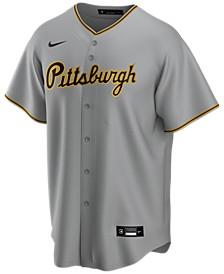 Men's Pittsburgh Pirates Official Blank Replica Jersey