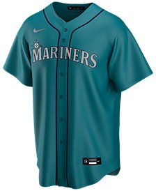 Men's Seattle Mariners Official Blank Replica Jersey
