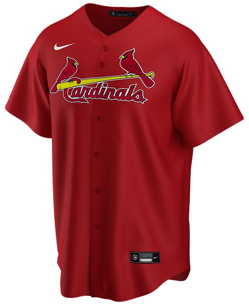 Nike Men's St. Louis Cardinals Official Blank Replica Jersey
