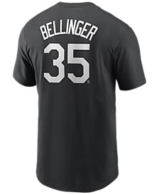 Men's Cody Bellinger Los Angeles Dodgers Name and Number Player T-Shirt