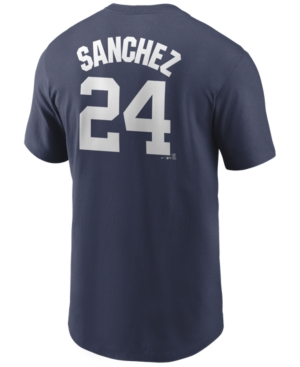 Nike Men's Gary Sanchez New York Yankees Name and Number Player T-Shirt