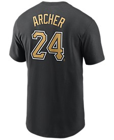 Men's Chris Archer Pittsburgh Pirates Name and Number Player T-Shirt